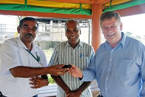 John meeting in Fiji